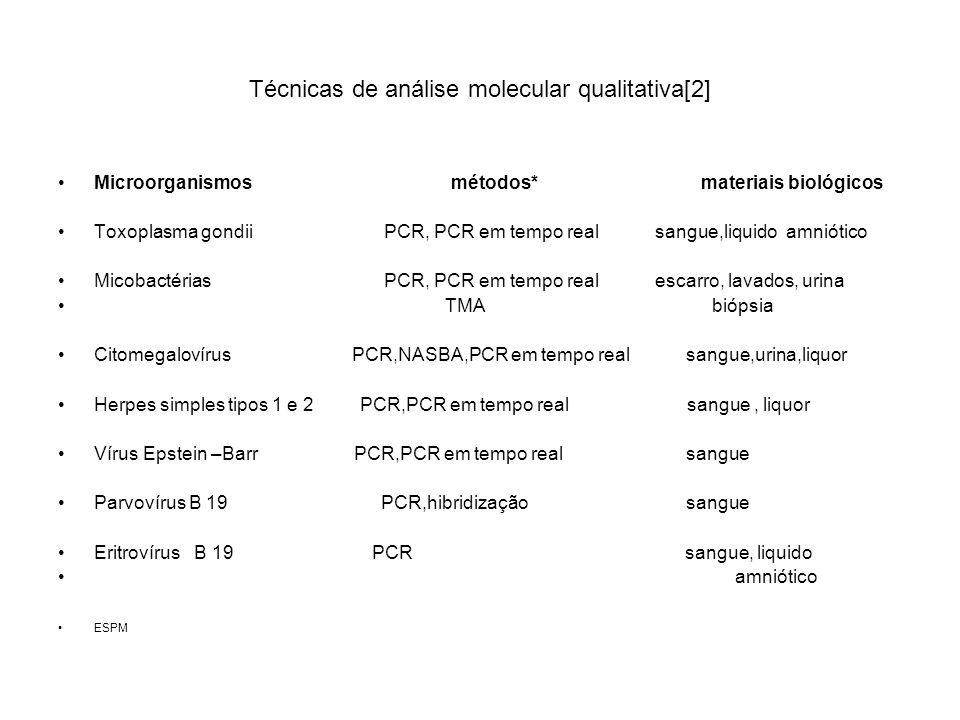 Técnicas de análise molecular qualitativa[2]